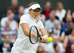 LONDON, ENGLAND - Friday, June 28, 2013: Laura Robson (GBR) during the Ladies' Singles 2nd Round match on day five of the Wimbledon Lawn Tennis Championships at the All England Lawn Tennis and Croquet Club. (Pic by David Rawcliffe/Propaganda)