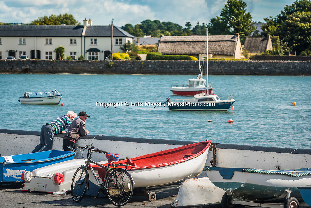 Dungarvan, Waterford, Southern Ireland, August 2016.  Dungarvan is a harbour town located at the heart of County Waterford, Ireland. A coastal road trip from Kilkenny to Cork via Wexford and Waterford.  Photo by Frits Meyst / MeystPhoto.com