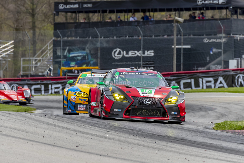 May 6, 2018 - Lexington, Ohio, United States of America - The 3GT Racing Lexus RCF GT3 car races through the turns during the Acura Sports Car Challenge race at the Mid-Ohio Sports Car Course in Lexington, Ohio. (Credit Image: © Walter G Arce Sr Asp Inc/ASP via ZUMA Wire)