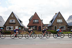 Rotem Gafinovitz (ISR) and Lisa Klein (GER) at Healthy Ageing Tour 2019 - Stage 2, a 134.4 km road race starting and finishing in Surhuisterveen, Netherlands on April 11, 2019. Photo by Sean Robinson/velofocus.com