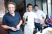 GIORGIO LOCATELLI; FEDERICO SALI; MAX SALI, Pimlico Road party. 22 June 2010. -DO NOT ARCHIVE-© Copyright Photograph by Dafydd Jones. 248 Clapham Rd. London SW9 0PZ. Tel 0207 820 0771. www.dafjones.com.