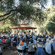 Hudson Shad performs at the 68th Ojai Music Festival at Libbey Park Gazebo on June 13, 2014 in Ojai, California.