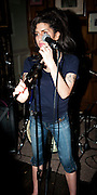 ***FILE PICTURE***.Amy Winehouse plays secret charity gig called Apocalypstick at The Hawley in October 2010 Arms in Camden town London. The gig was in aid of Nordoff Robbins Music therapy Charity.Ki Price +44 7940447610...