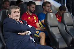 October 6, 2017 - Alicante, Spain - Juan Luis Larrea (president RFEF) during the qualifying match for the World Cup Russia 2018 between Spain and Albaniaat the Jose Rico Perez stadium in Alicante, Spain on October 6, 2017. (Credit Image: © Jose Breton/NurPhoto via ZUMA Press)