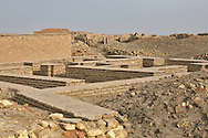 Ruins at the biblical birthplace of Abraham near the Ziggurat, next to the Tallil Airbase in Iraq.