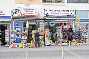 Souvenir shop in Paphos, Cyprus