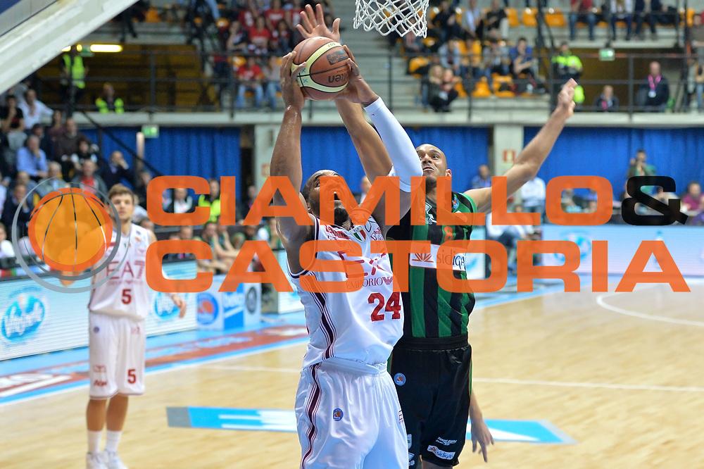 DESCRIZIONE : Final Eight Coppa Italia 2015 Desio Quarti di Finale Olimpia EA7 Emporio Armani Milano - Sidigas Scandone Avellino <br /> GIOCATORE : Samardo Samuels<br /> CATEGORIA :Tiro<br /> SQUADRA : EA7 Emporio Armani Milano<br /> EVENTO : Final Eight Coppa Italia 2015 Desio <br /> GARA : Olimpia EA7 Emporio Armani Milano - Sidigas Scandone Avellino <br /> DATA : 20/02/2015 <br /> SPORT : Pallacanestro <br /> AUTORE : Agenzia Ciamillo-Castoria/I.Mancini