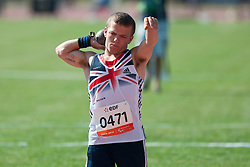 DUKE Kyron, GBR, Shot Put, F41, 2013 IPC Athletics World Championships, Lyon, France