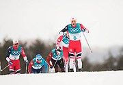 PYEONGCHANG-GUN, SOUTH KOREA - FEBRUARY 11: Martin Johnsrud Sundby of Norway during the Mens Skiathlon 15km+15km Cross-Country Skiing on day two of the PyeongChang 2018 Winter Olympic Games  at Alpensia Cross-Country Centre on February 11 in Pyeongchang-gun, South Korea. Photo by Nils Petter Nilsson/Ombrello               ***BETALBILD***