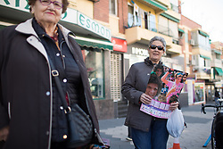 Old Italian ladies are out on the hunt for cycling memorabilia from every team before Stage 4 of the Setmana Cicilsta Valenciana - a 118 km road race, starting and finishing in Benidorm on February 25, 2018, in Valencia, Spain. (Photo by Balint Hamvas/Velofocus.com)