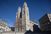 Switzerland, Zurich: Grossmünster