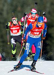 SLOOF Joel (NED) competes during Men 12,5 km Pursuit at day 3 of IBU Biathlon World Cup 2014/2015 Pokljuka, on December 20, 2014 in Rudno polje, Pokljuka, Slovenia. Photo by Vid Ponikvar / Sportida