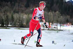 BYE Eirik Guide: HELLERUD Kristian, NOR at the 2014 IPC Nordic Skiing World Cup Finals - Middle Distance