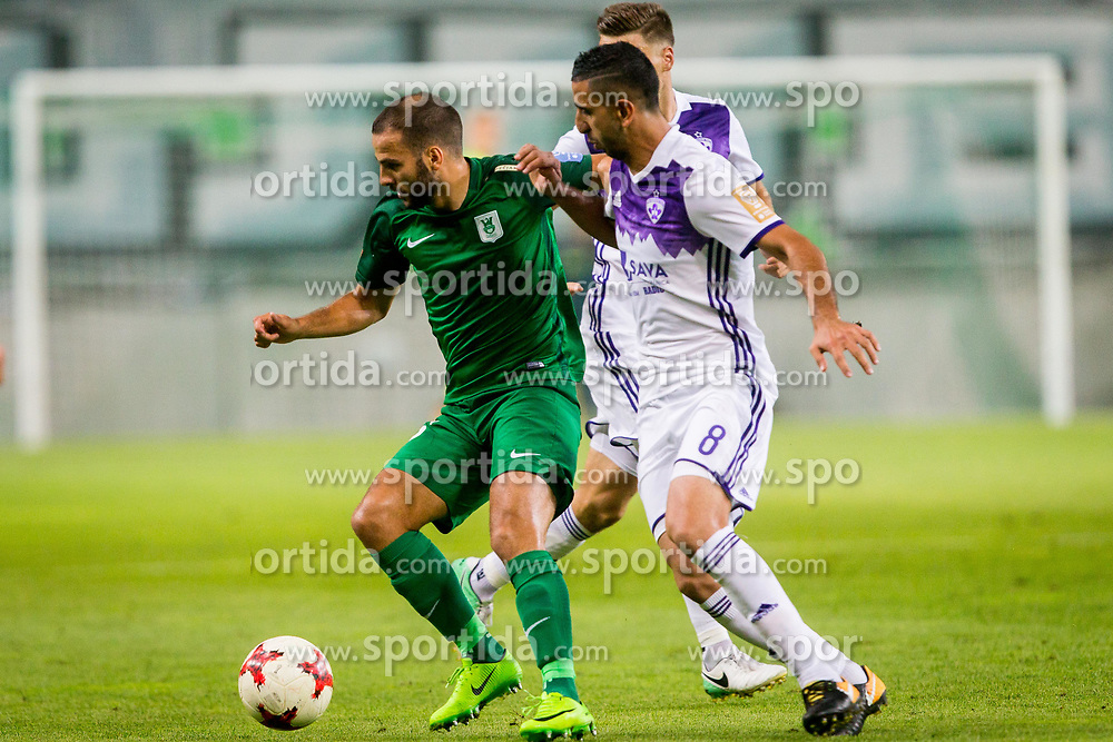 Football match between NK Olimpija Ljubljana and NK Maribor in 7th Round of Prva liga Telekom Slovenije 2017/18, on August 27, 2017 in SRC Stozice, Ljubljana. Photo by Ziga Zupan / Sportida