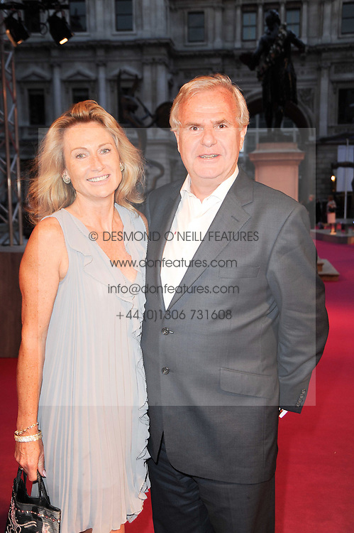 LORD & LADY MYNERS at the Royal Academy of Arts Summer Party held at Burlington House, Piccadilly, London on 9th June 2010.
