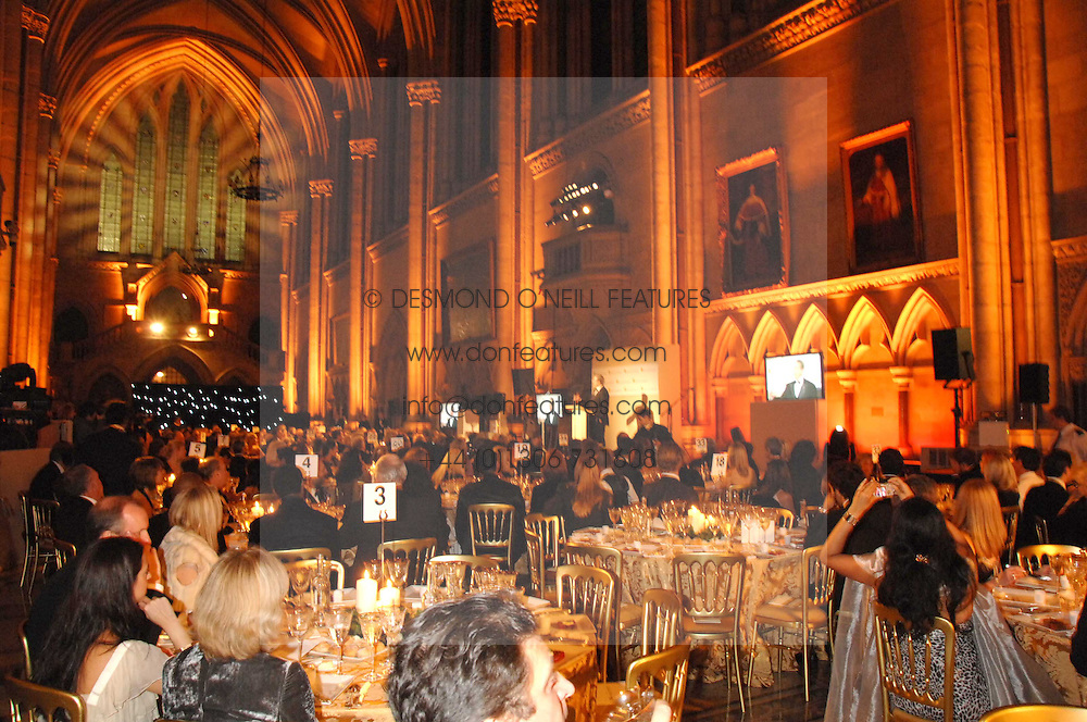 Atmosphere at the 2nd Fortune Forum Summit and Gala Dinner held at the Royal Courts of Justice, The Strand, London on 30th November 2007.<br />