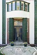 Künstlerkolonie, Haus Behrens, Mathildenhöhe, Jugendstil, Darmstadt, Hessen, Deutschland | Centre of Art Noveau on Mathildenhoehe, Darmstadt, Germany