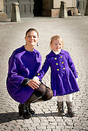 12-3-2015 - STOCKHOLM - Crownprincess Victoria of Sweden celebrates together with Princess Estelle  her nameday at the Royal Palace in Stockholm, Sweden, 12 March 2015. COPYRIGHT ROBIN UTRECHT
