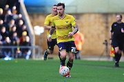 Oxford United forward Chris Maguire during the The FA Cup third round match between Oxford United and Swansea City at the Kassam Stadium, Oxford, England on 10 January 2016. Photo by Jemma Phillips.