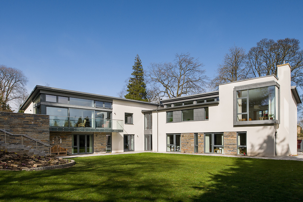 McNeil House, the new Christian Scientist Centre , desiged by Edinburgh architect Lorn Macneal