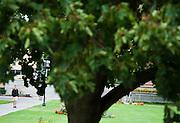 Around campus at Gonzaga University. (Photo by Rajah Bose)