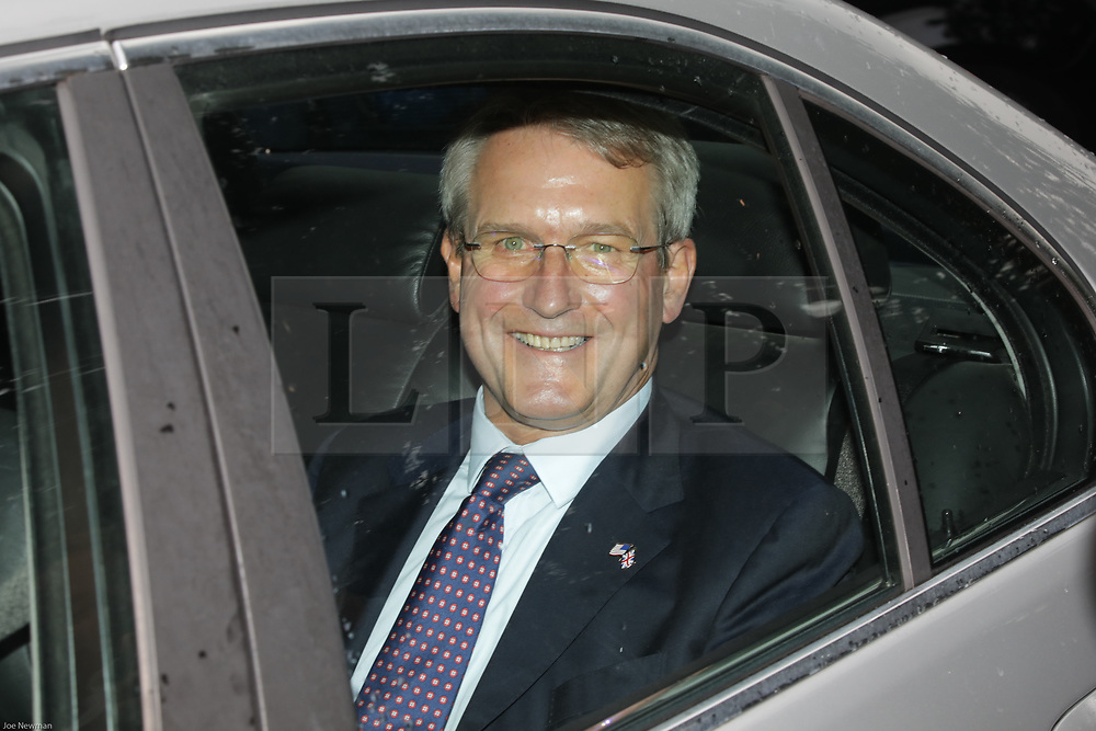 © Licensed to London News Pictures. 04/06/2019. London, UK. Brexiteers OWEN PATERSON MP is seen leaving Winfield House, the U.S Ambassadors residence, on day two of a state visit by U.S President Donald Trump, to the UK. Photo credit: Joe Newman/LNP