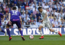 March 16, 2019 - Madrid, Madrid, Spain - Real Madrid CF's Dani Ceballos seen in action during the Spanish La Liga match round 28 between Real Madrid and RC Celta Vigo at the Santiago Bernabeu Stadium in Madrid. (Credit Image: © Manu Reino/SOPA Images via ZUMA Wire)