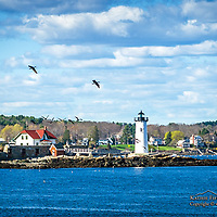 Portsmouth Harbor Light, NH. <br />