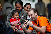 021,  Bui Van Danh, Male, 3 years old, UCL, before, on the first day of screening with mother Ai,  father Luyen and Sustainer Program &ndash; Videographer Justin Weiler  from the USA.<br /> <br /> 25th Anniversary of Operation Smile in Vietnam mission November 15th - 23rd 2014.  Vietnam Cuba Friendship Hospital. Hanoi. Vietnam.<br /> <br /> (Operation Smile Photo - Zute Lightfoot)