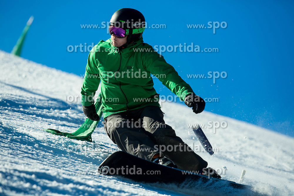 Jernej Demsar during training of Snowboarding Team Slovenia prior to the 2015 FIS Freestyle Ski and Snowboard World Championships in Kreischberg (AUT) on January 13, 2015 in Rogla, Slovenia. Photo by Vid Ponikvar / Sportida