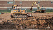 Construction at Worthing High School, June 21, 2017.