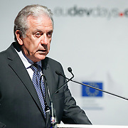 20160615 - Brussels , Belgium - 2016 June 15th - European Development Days - Harnessing the potential of migration and forced displacement for development - Dimitris Avramopoulos , EU Commissionner for Migration , Home Affairs and Citizenship , European Commission - DG for Migration , Home Affairs and Citizenship © European Union