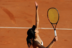 May 23, 2018 - France - Internationaux de tennis de Strasbourg - Su-wei HSIEH Taipei (Credit Image: © Panoramic via ZUMA Press)