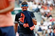 Juan Martin DEL POTRO (ARG) during the Roland Garros French Tennis Open 2018, day 9, on June 4, 2018, at the Roland Garros Stadium in Paris, France - Photo Stephane Allaman / ProSportsImages / DPPI