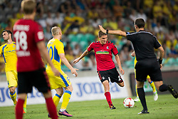 Aleksander Ignjovski of SC Freiburg during 2nd Leg football match between NK Domzale and FC Freiburg in 3rd Qualifying Round of UEFA Europa League 2017/18, on August 3rd, 2017 in SRC Stozice, Ljubljana, Slovenia. Photo by Urban Urbanc / Sportida