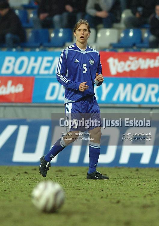 Ari Nyman.&amp;#xA;U21 Tshekki - Suomi 25.3.05.&amp;#xA;Photo: Jussi Eskola<br />