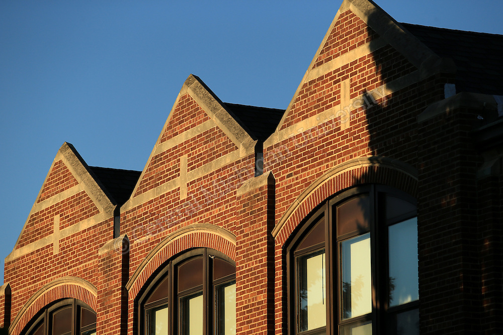 Wightman Hall details. Central Michigan University photo by Steve Jessmore