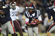 Ole Miss running back Jeff Scott (3) vs. Texas A&M in Oxford, Miss. on Saturday, October 6, 2012. Texas A&M won 30-27...