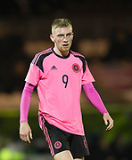 Scotland's Oliver McBurnie - Scotland under 21s v Estonia international challenge match at St Mirren Park, St Mirren. Pic David Young<br />  <br /> - © David Young - www.davidyoungphoto.co.uk - email: davidyoungphoto@gmail.com