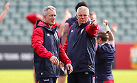 Rugby Union - 2017 British & Irish Lions Tour of New Zealand - Training Session <br /> <br /> Warren Gatland head coach talks to Rob Howley during the British & Irish Lions training session, ahead of the match against The Blues, at the QBE Stadium, Auckland. <br /> <br /> COLORSPORT/LYNNE CAMERON