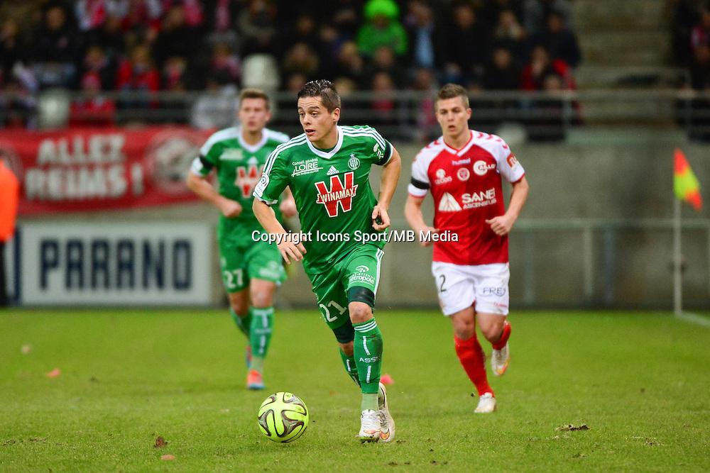Romain HAMOUMA  - 10.01.2015 - Reims / Saint Etienne - 20eme journee de Ligue 1<br />Photo : Dave Winter / Icon Sport