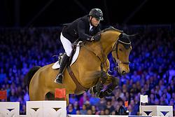 Schroder Ben, NED, Davino Q  <br /> Anemone Horse Truck Grote Prijs van Amsterdam powered by Stoeterij Sterrehof<br /> Jumping Amsterdam 2017<br /> © Hippo Foto - Leanjo de Koster<br /> 29/01/2017