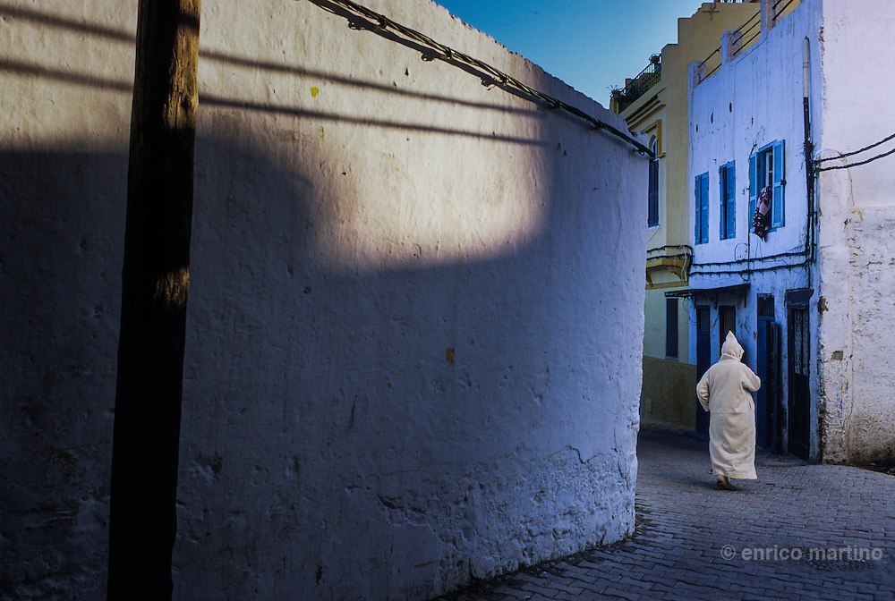 Tangier,  the old city, medina.