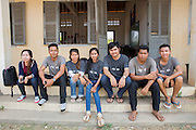 In country ICS volunteers based in the village of in Banteay Char, near Battambang, Cambodia.