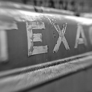 Texaco Gas Tanker Truck - Motor Transport Museum - Campo, CA - Lensbaby - Black & White