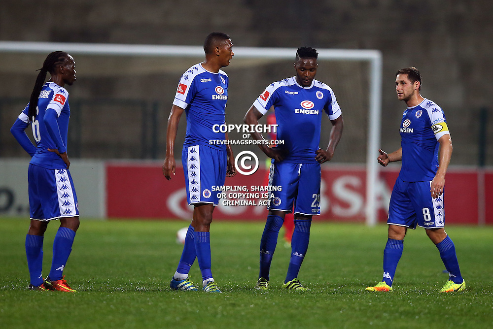 General views during the 2016 Premier Soccer League match between Supersport United and The Free Stat Stars held at the King Zwelithini Stadium in Durban, South Africa on the 24th September 2016<br /> <br /> Photo by:   Steve Haag / Real Time Images