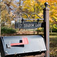 Mail box, CT, USA