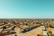 NIGER, view of Agadez from the mosque tower