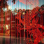 Reflection in a Chinese restaurant located in Prague/Zizkov. #prag #praha #prague #czechrepublic #reflection #window #zizkov #restaurant #street #public #ThroughANewLensContest
