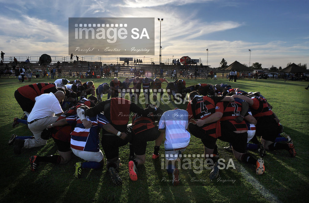 BLOEMFONTEIN, SOUTH AFRICA - Saturday 16 March 2013,  during match 38 of the Cell C Community Cup rugby match between Bloemfontein Crusaders and Noordelikes held at the Clive Solomon stadium, Bloemfontein..Photo by ImageSA
